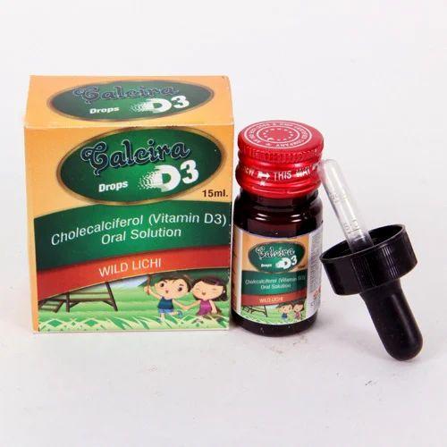 Cholecalciferol Vitamin D3 Oral Solution