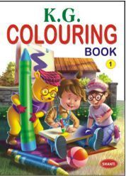 K.G Colouring Book