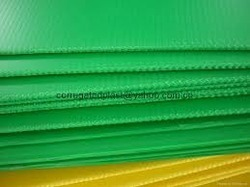 Corrugated Plastic Sheet Plastic Corrugated Sheet