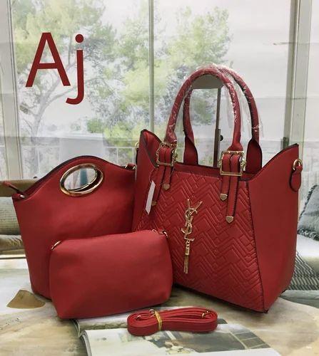 1e86ebfaf9b YSL Ladies Bag Combo, Women Hand Bags - Shoppers Stop, Jaysingpur ...