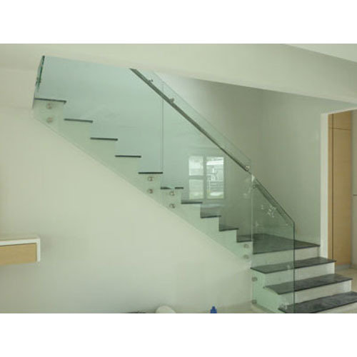 SS Railing - SS Glass Stair Railing Manufacturer from Ludhiana