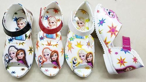 Baby Rexine Barbie Sandals, Size: 3 to
