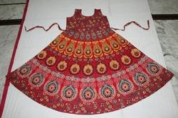 Floral Print Jaipuri Kurti