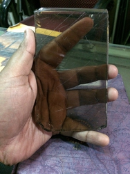Asi Broun 8mm Glass Sheet , Size: 8mm