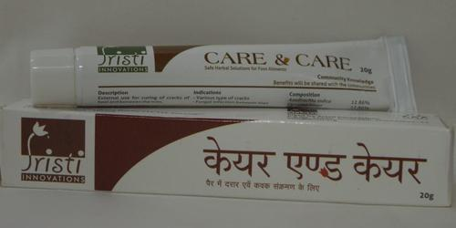 Care And Care Foot To Cure Cracks