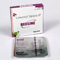 Recline Tablet Linezolid 600 Mg, Packaging Type: Strips, 501mg-600mg