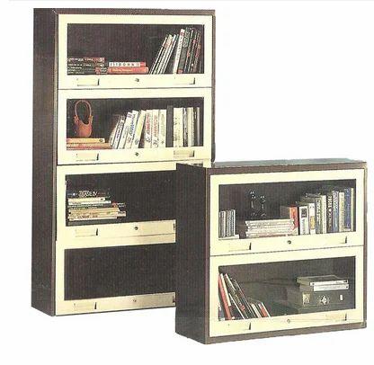 Glass Door Bookcase Cabinet