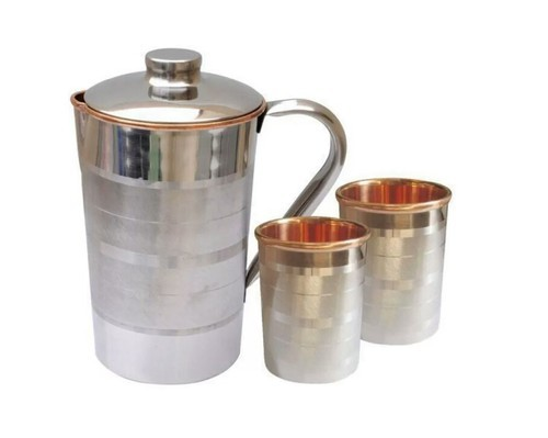 Ayurpatra Steel Copper Jugs For Home