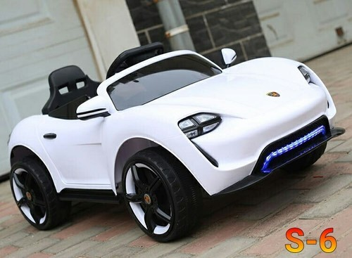 Porsche Plastic Kids Battery Operated Car