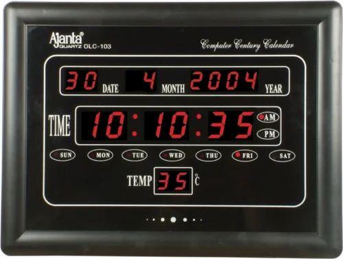 Clock Ajanta Digital Led Wall Clock Service Provider From Hyderabad