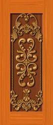 PVC Printed Decorative 3D Crving Door Skin Membrane Prints, Shape: Rectangular
