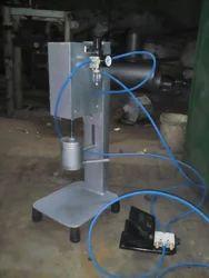 Pneumatic Lug Cap Sealing Machine