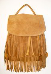 Suede Leather Fringe Bags