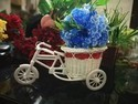 Hyperboles Artificial Plant With Vintage Rickshaw Pot