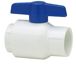 UPVC Ball Valve (Blue Handel)