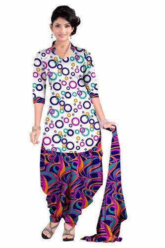 12bcb5ec2b Printed Patiala Salwar Suit (Set Of 10), Rs 225 /set, Viva N Diva ...