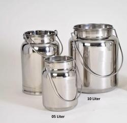 SS 304 Milk Can/Barani 05 ltr