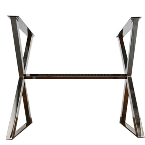 rectangle stainless steel table base, ss table base, stainless steel
