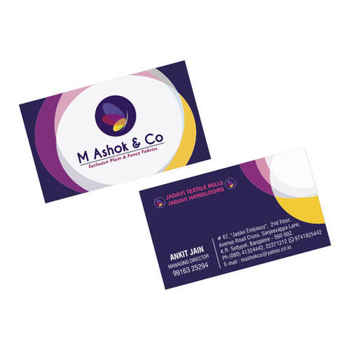 4 color visiting card printing service in dadar west mumbai print 4 color visiting card printing service reheart Images