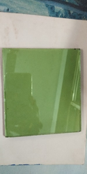 Green Reflecting Glass
