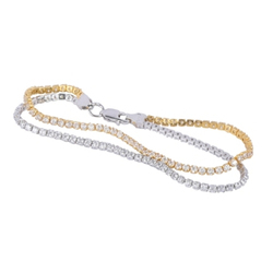 Ultra Light Gwendolen 925 Sterling Silver Bracelet