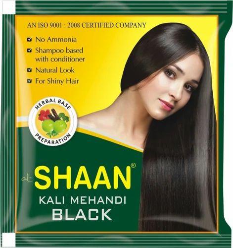 17de665d9 Black Henna Powder Shaan Kali Mehndi, Packaging Size: 5-10 Gms, For ...