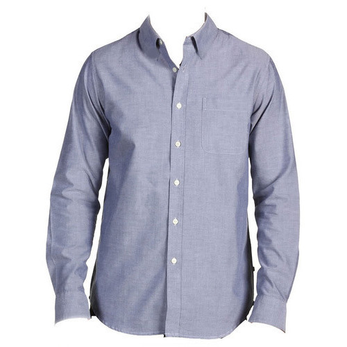 White Long Sleeve Mens Shirt