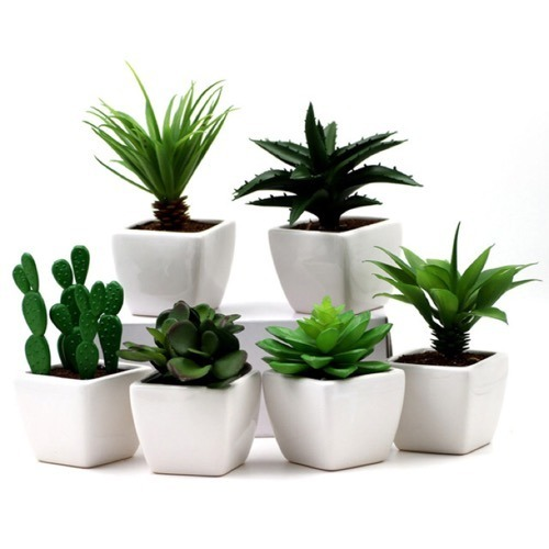 Green Artificial Cactus Plants For, Outdoor Artificial Cactus Plants