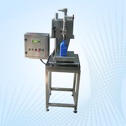 Semi- Automatic Weighmetric Liquid Filling Machine