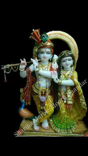 Krishna Sculpture Marble Radha Krishna Statue Manufacturer From