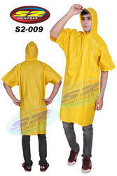 S2-009 PVC Yellow Rain Coat