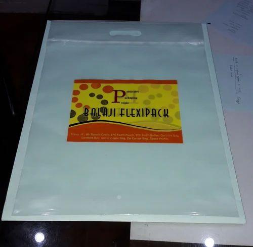 Polypropylene Attached Zipper Bag