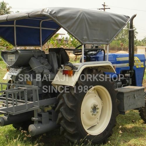 Tractor Mounted Air Compressor - Farmtrac Attached Tractor Mounted