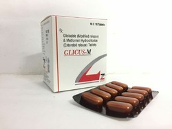 Gliclazie 80 Mg Metformin 500 Tablets