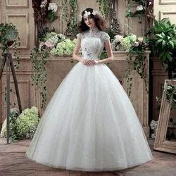 Picture Color White Wedding Dresses Bridal Dress