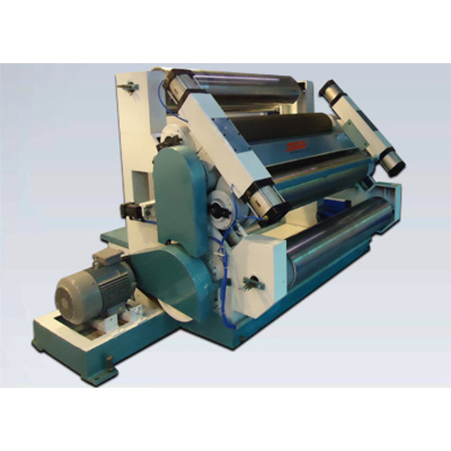 Pneumatic Controlled Corrugation Machine