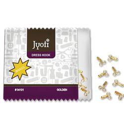 Jyoti Dress Hook (Brass) - Golden-2 Wire-2