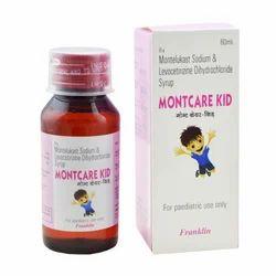 Montelukast Sodium & Levocetirizine Dihydrochloride Syrup