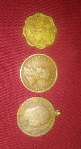 Copper Gold 1949 Old Coin Rs 500000