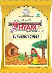 Shyam Dhani Turmeric Mini Pack Powder, Packaging Type: Packets