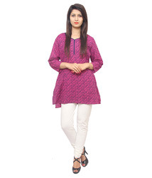 Stylish Cotton Short Kurti
