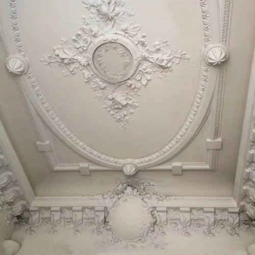 Modern Plaster Of Paris Ceiling - Maruti Gypsum Marketing ...
