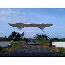 Funnel Type Entrance Canopy