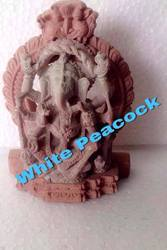 Ganesha Red Stone