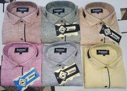 6 Cotton Denim Shirt