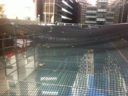 Building Glass Safety Net