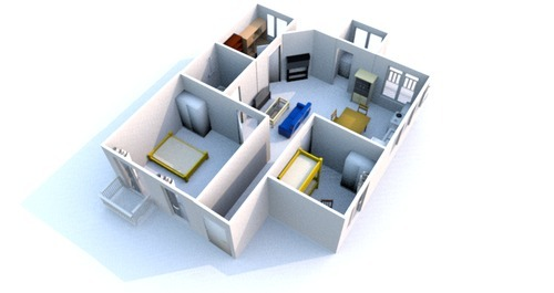 Residential Architectural Services Home Map Designing In