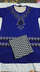 Embroided Chudi Suit