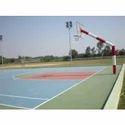 Basketball Goal Pole