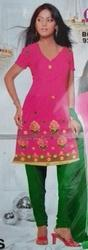 Cotton PC suits with embroidery